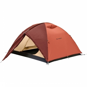 VAUDE Tent Campo 3p - Roest