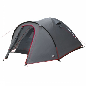 High Peak Tent Nevada 3 - Donkergrijs