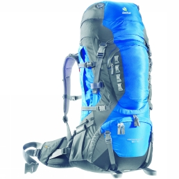 Deuter Aircontact Pro 60 + 15 Ocean/Anthracite