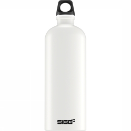 Sigg Drinkfles Traveller White Touch 1l - Wit