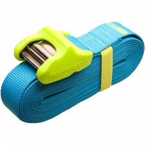 Spanriem Tie Down Silicone Cam Cover 3.5M 2 Pack Blue/Lime