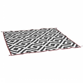 Bo-Camp Diverse Urban Outdoor Chill Mat Picnic - Zwart