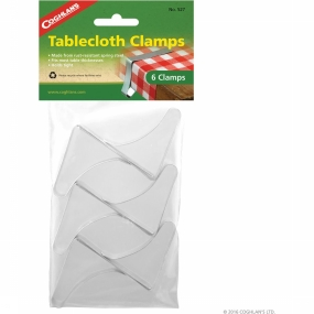 Coghlan's Diverse Tablecloth Clamps 6st - Wit