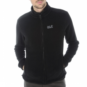 Jack Wolfskin Fleece Moonrise voor heren Zwart