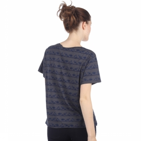 T-Shirt Loose Fit Tee With Various Allover Print