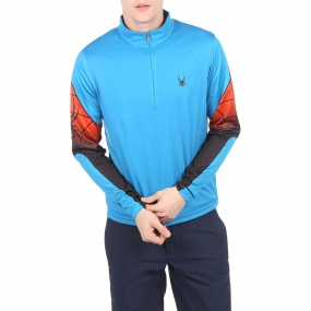 Spyder Fleece Webstrong Dry Web Blauw