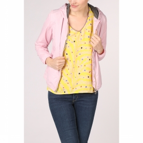 K-Way Jas Poly Lily Poly Jersey voor dames - Grijs