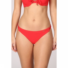 Superdry Slip Alice Textured Cupped voor dames Rood
