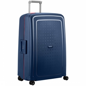 Samsonite Trolley S'cure Spinner 75/28 Koningsblauw