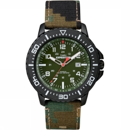 Timex Expedition Uplander Camo Green horloge T49965SU