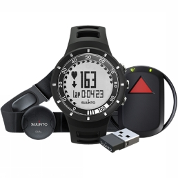 Sportwatch Quest Black GPS Pack