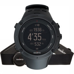 Heart Rate Monitor Ambit 3 Peak HR Black