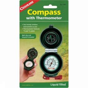 Compass Cog Thermometer