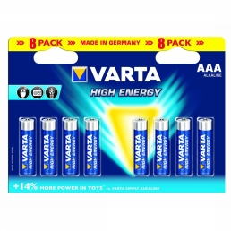 Battery AAA 8-Pack He Mignon