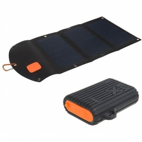 Xtorm Oplader Outdoor Kit Solarbooster 21w + Wpb Xtreme 10000 - Zwart
