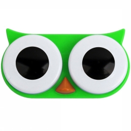 Gadget Owl Contact Lens Case