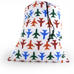 Gadget Airplane Travel-Size Laundry Bag