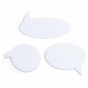 Gadget Talking Bubble Sticky Notes
