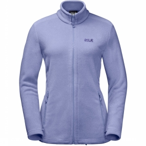Jack Wolfskin Fleece Moonrise voor dames Lichtpaars