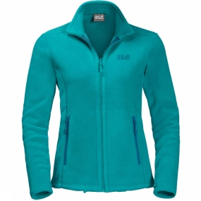 Jack Wolfskin Fleece Moonrise Eco voor dames Blauw