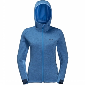 Jack Wolfskin Fleece Morning Sky voor dames Blauw