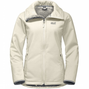 Jack Wolfskin Windstopper Rock Valley voor dames Gebroken Wit