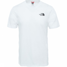 The North Face T-shirt Nse Simple Dome voor heren - Wit