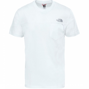 The North Face T-shirt Z-pocket Wit