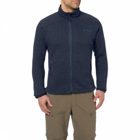 Vaude Fleece Rienza Marineblauw