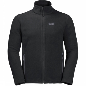 Jack Wolfskin Fleece Midnight Moon voor heren Zwart