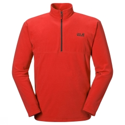 Jack Wolfskin Fleece Gecko Donkerrood