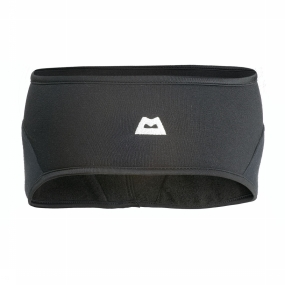 Mountain Equipment Haarband Powerstretch Headband Zwart