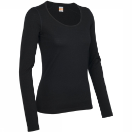 Oasis 200 L/S Scoop Shirt Dames