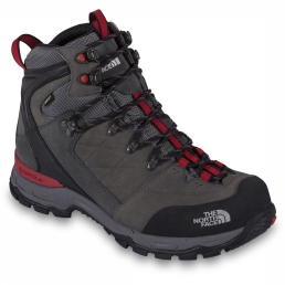 The North Face VERBERA HIKER II GTX Bergschoenen graphite grey/red