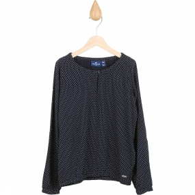 Tom Tailor Blouse 20327490940 Donkerblauw