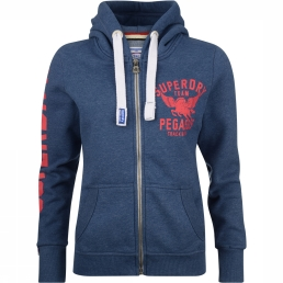 Cardigan Track And Field Zip Hood