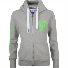Cardigan Track And Field Athletic Zip Hood