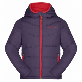 Vaude - Kid´s Arctic Fox Jacket III - Synthetisch jack - maat 134/140, elderberry