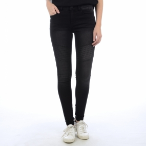 Trousers Just Jute Washed Legging Rine