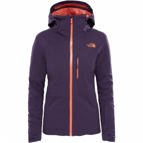 The North Face Jas Lenado voor dames - Donkerpaars thumbnail