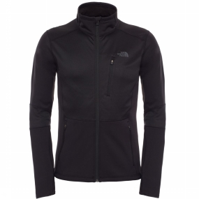The North Face - Croda Rossa Fleece - Fleecejack - maat M, black