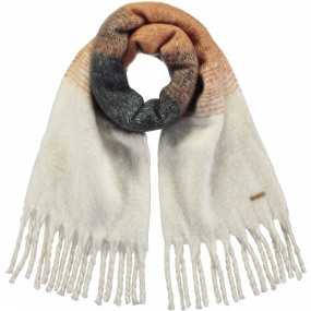 Barts Sjaal Alexis Scarf voor dames - Wit thumbnail