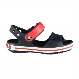 Crocs CROCBAND Slippers navy/red
