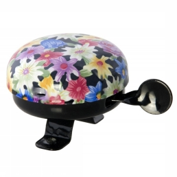 Bicycle Bell Colourful Blossoms