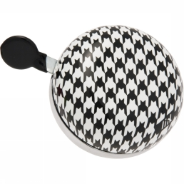 Bicycle Bell Ding Dong Houndstooth