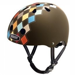Bicycle Helmet Gen3 Modern Argyle