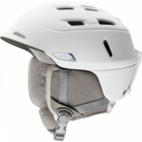 Smith Skihelm Compass voor dames - Wit