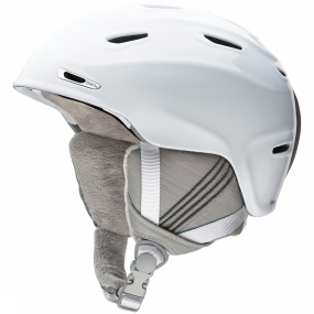 Smith Skihelm Arrival voor dames - Wit