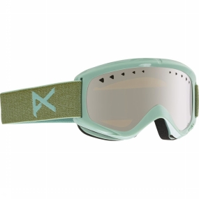 Anon Helix - Goggle / Skibril - 2 Lens - Mint/Silver Amber