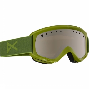 Anon Helix - Goggle / Skibril - 2 Lens - Grasshole/Silver Amber